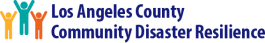 Los Angeles County Community Disaster Resilience logo
